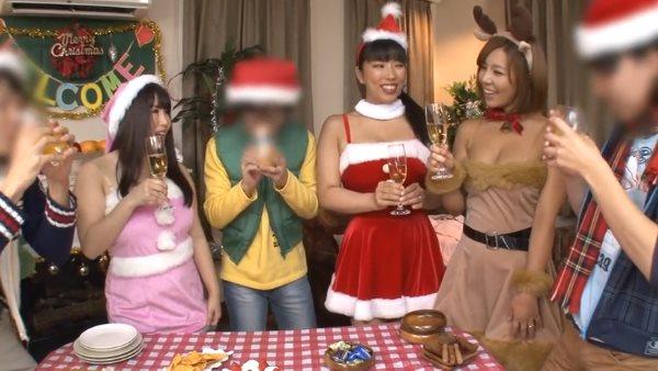 痴女ママ主催のクリスマスパーティ