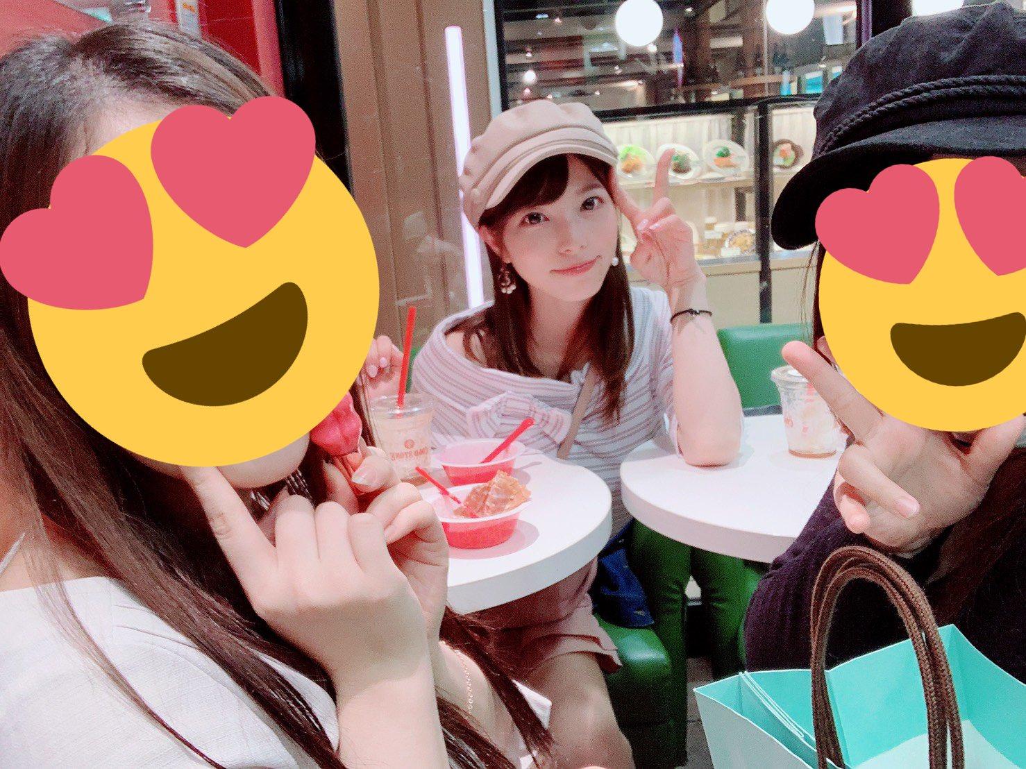 2019年の上原亜衣のプライベート写真